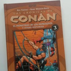 Cómics: CRONICAS DE CONAN VOLUMEN 3, CON BARRY SMITH EN LA ESPECTACULAR EDICIÓN RECOLOREADA DE DARK HORSE.. Lote 240545860