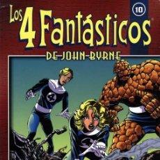 Cómics: COLECCIONABLE LOS 4 FANTÁSTICOS DE JOHN BYRNE NÚMERO 10 (FORUM). Lote 240573600
