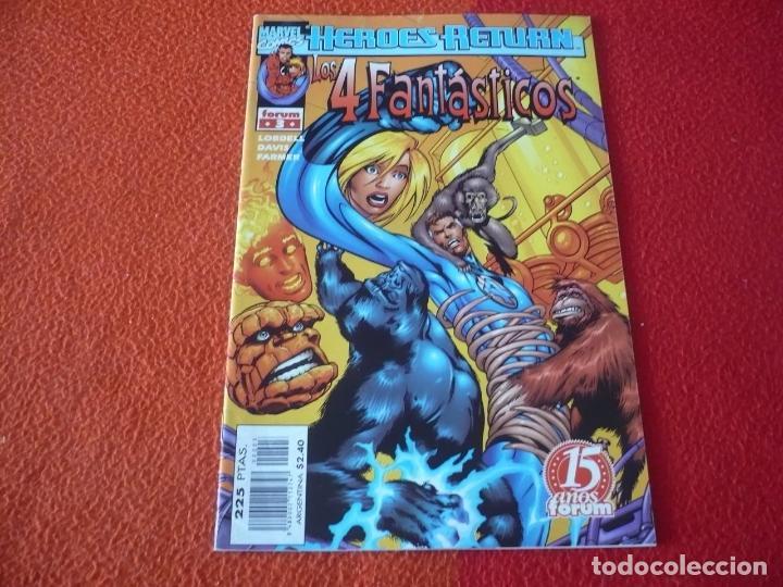 LOS 4 FANTASTICOS VOL. 3 Nº 3 ( LOBDELL DAVIS ) ¡BUEN ESTADO! MARVEL FORUM (Tebeos y Comics - Forum - 4 Fantásticos)