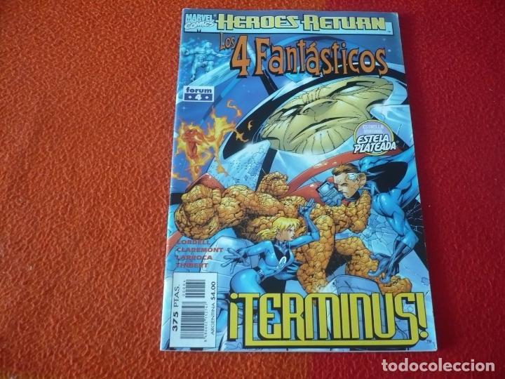 LOS 4 FANTASTICOS VOL. 3 Nº 4 ( LOBDELL DAVIS ) ¡BUEN ESTADO! MARVEL FORUM (Tebeos y Comics - Forum - 4 Fantásticos)