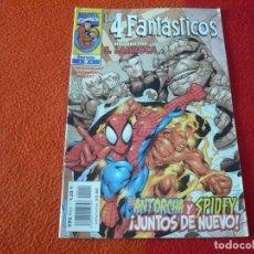 Cómics: LOS 4 FANTASTICOS VOL. 3 Nº 9 SPIDERMAN ( LOBDELL LARROCA ) ¡BUEN ESTADO! MARVEL FORUM. Lote 240574050