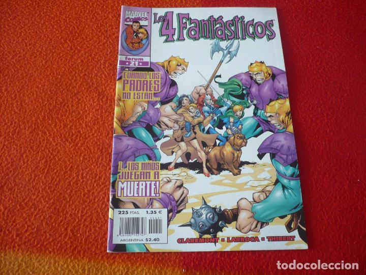 LOS 4 FANTASTICOS VOL. 3 Nº 21 ( LOBDELL LARROCA ) ¡BUEN ESTADO! MARVEL FORUM (Tebeos y Comics - Forum - 4 Fantásticos)