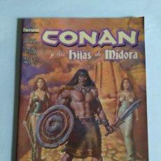 Cómics: CONAN Y LAS HIJAS DE MIDORA, FORUM (2007) PLANETA DEAGOSTINI. MUY BUEN ESTADO.. Lote 240633985