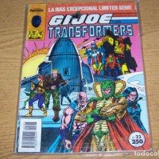 Cómics: FORUM COMANDO G.I. JOE HEROES INTERNACIONALES 23 CON TRANSFORMERS. Lote 240672790