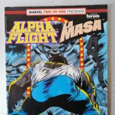 Cómics: ALPHA FLIGHT - LA MASA Nº 54 - BIMESTRAL 64 PÁGS. - FORUM 1986. Lote 240676755