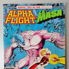 Cómics: ALPHA FLIGHT - LA MASA Nº 48 - BIMESTRAL 64 PÁGS. - FORUM 1987. Lote 240678445