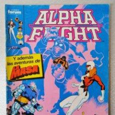 Cómics: ALPHA FLIGHT - LA MASA Nº 31 - FORUM 1985. Lote 240679200