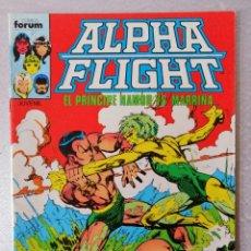 Cómics: ALPHA FLIGHT - LA MASA Nº 12 - FORUM 1985 ''BUEN ESTADO''. Lote 240679885