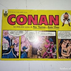 Cómics: CONAN Nº 3 LAS DAILY-STRIP COMICS DE ROY THOMAS Y ERNIE CHAN - FORUM. Lote 240721125