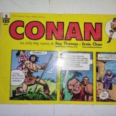 Cómics: CONAN Nº 5 LAS DAILY-STRIP COMICS DE ROY THOMAS Y ERNIE CHAN - FORUM. Lote 240721545