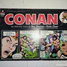 Comics: CONAN Nº 4 LAS DAILY-STRIP COMICS DE ROY THOMAS Y ERNIE CHAN - FORUM. Lote 240723095