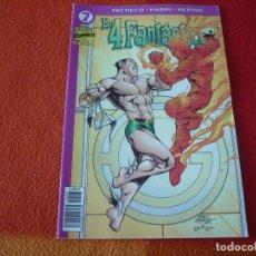Comics : LOS 4 FANTASTICOS VOL. IV Nº 7 ( PACHECO MARIN ) ¡BUEN ESTADO! MARVEL FORUM. Lote 271812198