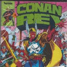 Cómics: CONAN REY - RETAPADO - NºS 46 AL 50 - PERFECTO ESTADO. Lote 262211660