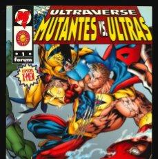 Cómics: ULTRAVERSE. MUTANTES VS. ULTRAS - FORUM / NÚMERO ÚNICO. Lote 240898490