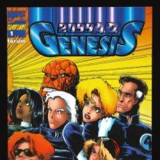 Cómics: 2099 A.D. GÉNESIS - FORUM / NÚMERO ÚNICO. Lote 240900155