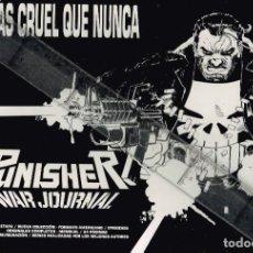 Cómics: 1991 MÁS CRUEL QUE NUNCA PUNISHER WAR JOURNAL NUEVA COLECCIÓN - FORMATO AMERICANO (FORUM). Lote 240938515