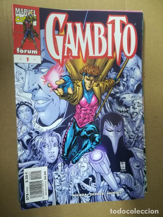 Cómics: GAMBITO. VOL 3. COMPLETA SALVO EL 16. FORUM - Foto 2 - 240956400
