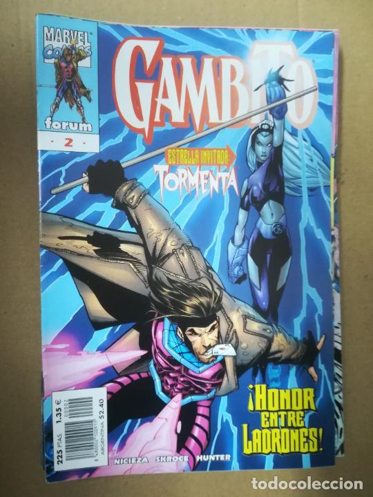 Cómics: GAMBITO. VOL 3. COMPLETA SALVO EL 16. FORUM - Foto 3 - 240956400