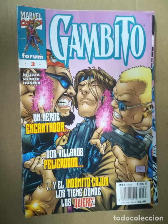 Cómics: GAMBITO. VOL 3. COMPLETA SALVO EL 16. FORUM - Foto 4 - 240956400