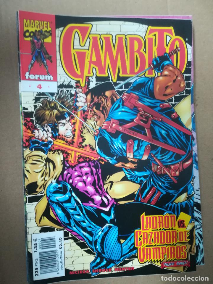 Cómics: GAMBITO. VOL 3. COMPLETA SALVO EL 16. FORUM - Foto 5 - 240956400