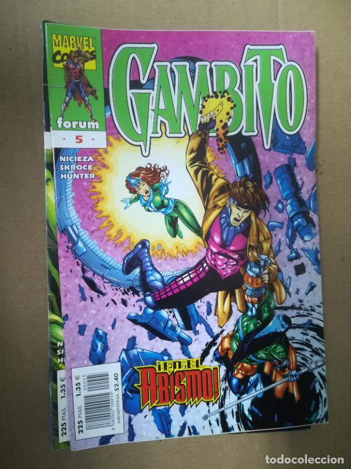 Cómics: GAMBITO. VOL 3. COMPLETA SALVO EL 16. FORUM - Foto 6 - 240956400