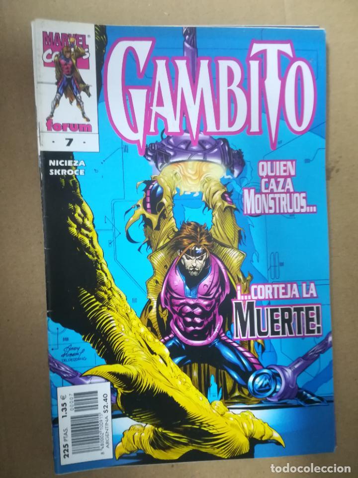 Cómics: GAMBITO. VOL 3. COMPLETA SALVO EL 16. FORUM - Foto 8 - 240956400