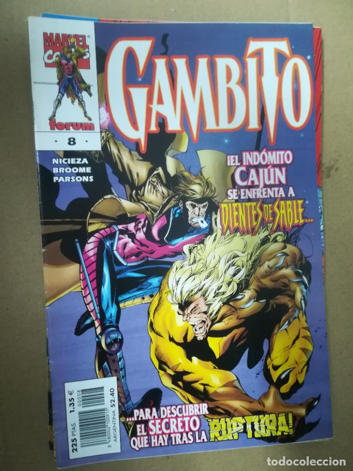 Cómics: GAMBITO. VOL 3. COMPLETA SALVO EL 16. FORUM - Foto 9 - 240956400