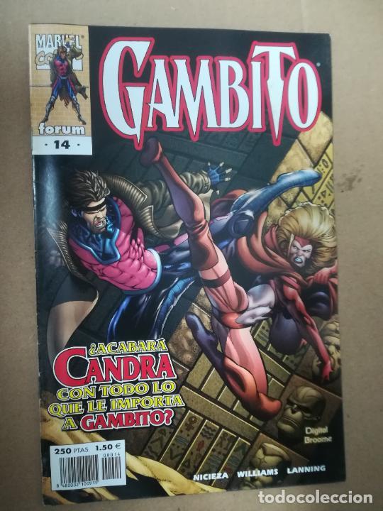 Cómics: GAMBITO. VOL 3. COMPLETA SALVO EL 16. FORUM - Foto 15 - 240956400