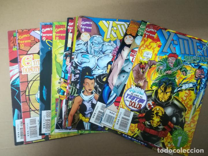 X-MEN 2099 A.D. VOL 2. LOTE DEL 1 AL 12. FORUM (Tebeos y Comics - Forum - X-Men)