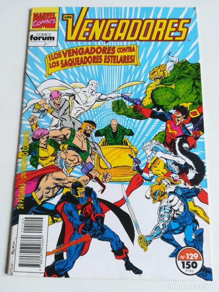 LOS VENGADORES VOL.1 Nº 129 FORUM MUY BUEN ESTADO (Tebeos y Comics - Forum - Vengadores)