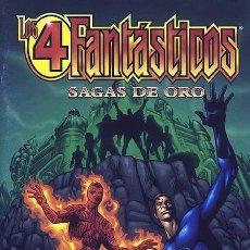 Cómics: LOS 4 FANTÁSTICOS: SAGAS DE ORO (FORUM). Lote 241210940