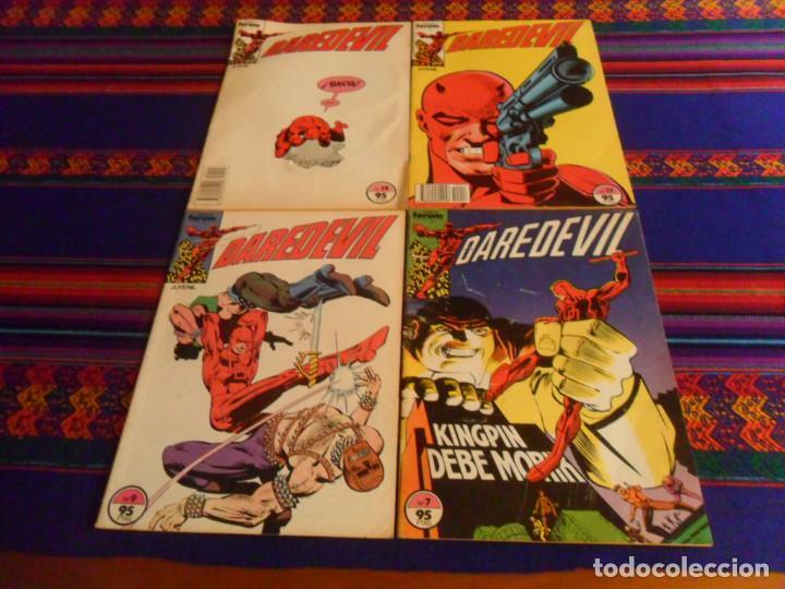 FORUM VOL. 1 DAREDEVIL NºS 7, 9, 17 Y 19. 95 PTAS. 1983. CORRECTO ESTADO Y RAROS. (Tebeos y Comics - Forum - Daredevil)
