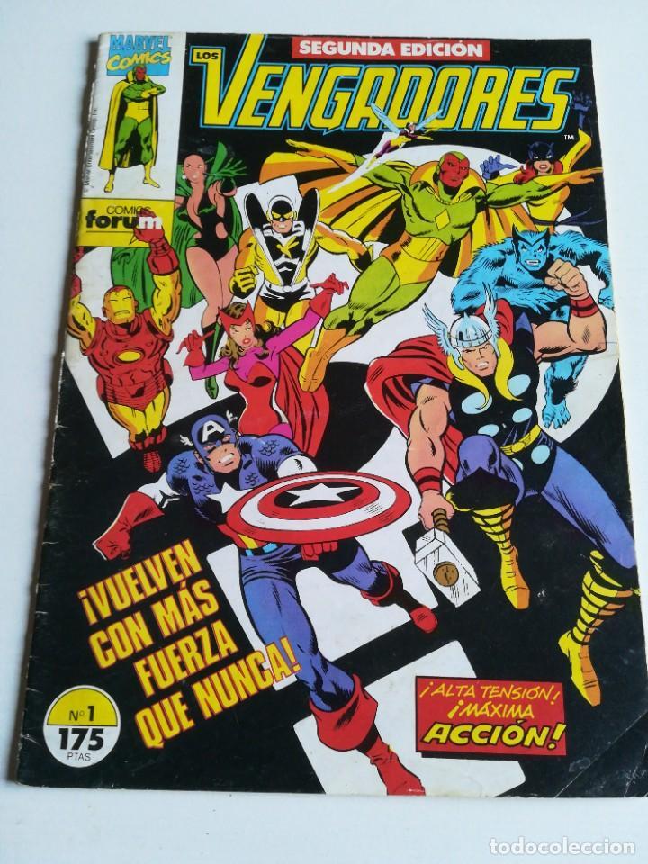 LOS VENGADORES VOL.1 Nº 1 FORUM (Tebeos y Comics - Forum - Vengadores)