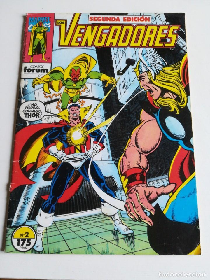 LOS VENGADORES VOL.1 Nº 2 FORUM (Tebeos y Comics - Forum - Vengadores)