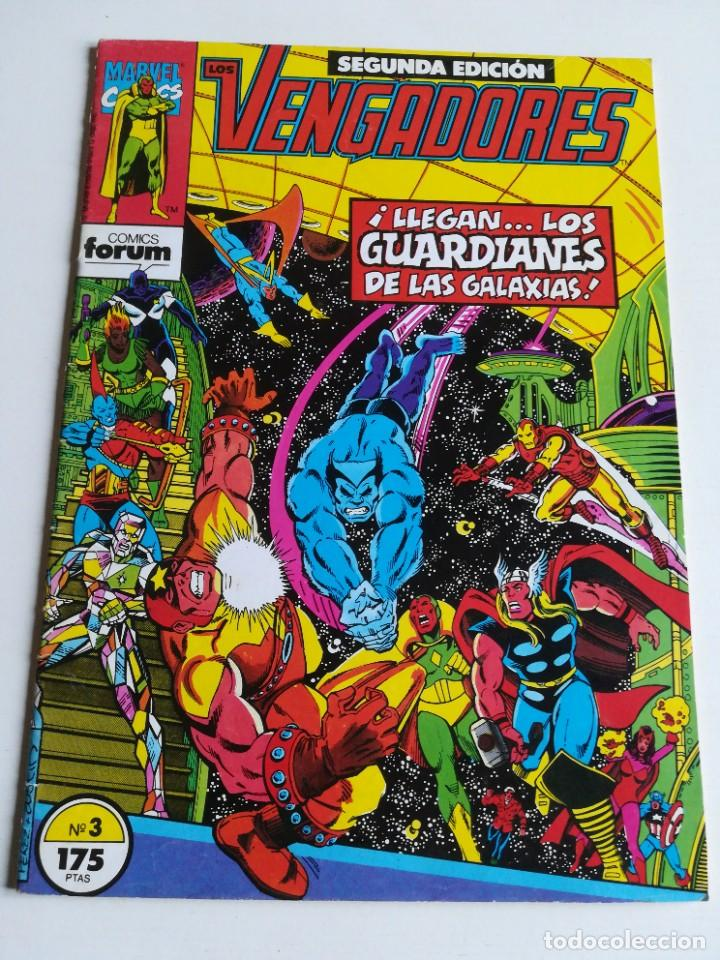 LOS VENGADORES VOL.1 Nº 3 FORUM (Tebeos y Comics - Forum - Vengadores)