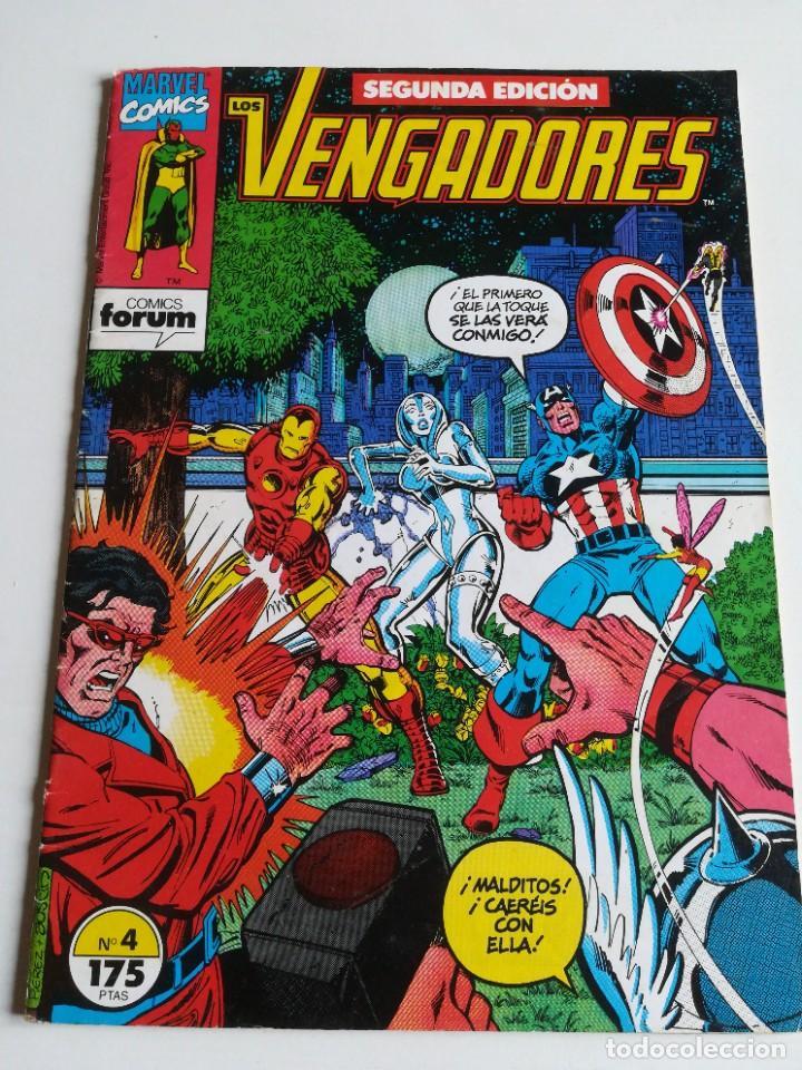 LOS VENGADORES VOL.1 Nº 4 FORUM (Tebeos y Comics - Forum - Vengadores)