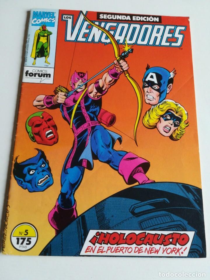 LOS VENGADORES VOL.1 Nº 5 FORUM (Tebeos y Comics - Forum - Vengadores)