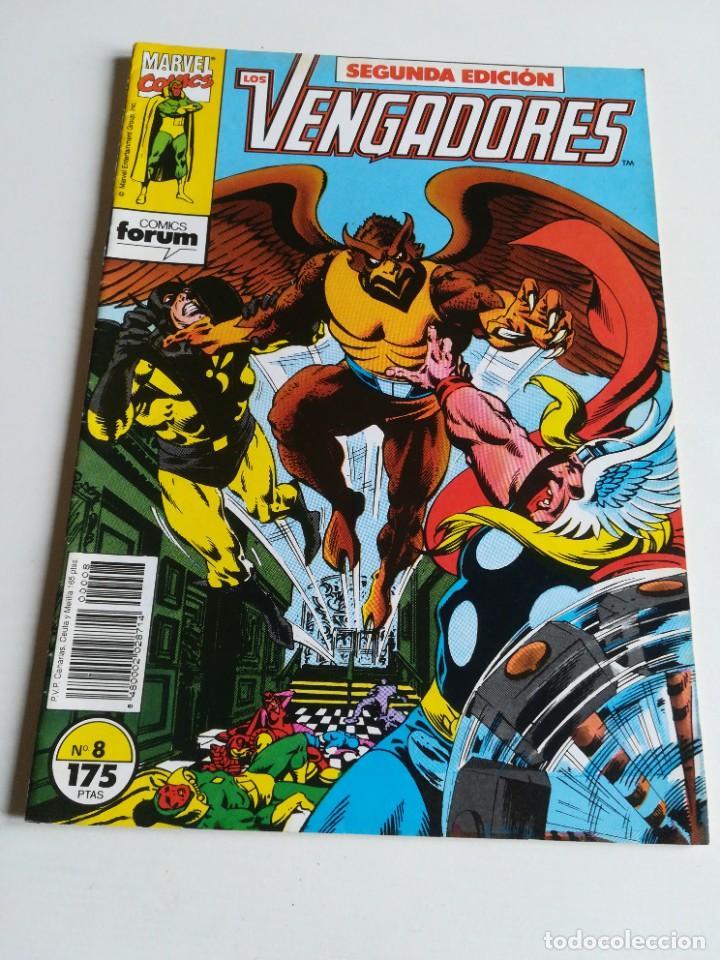 LOS VENGADORES VOL.1 Nº 8 FORUM (Tebeos y Comics - Forum - Vengadores)
