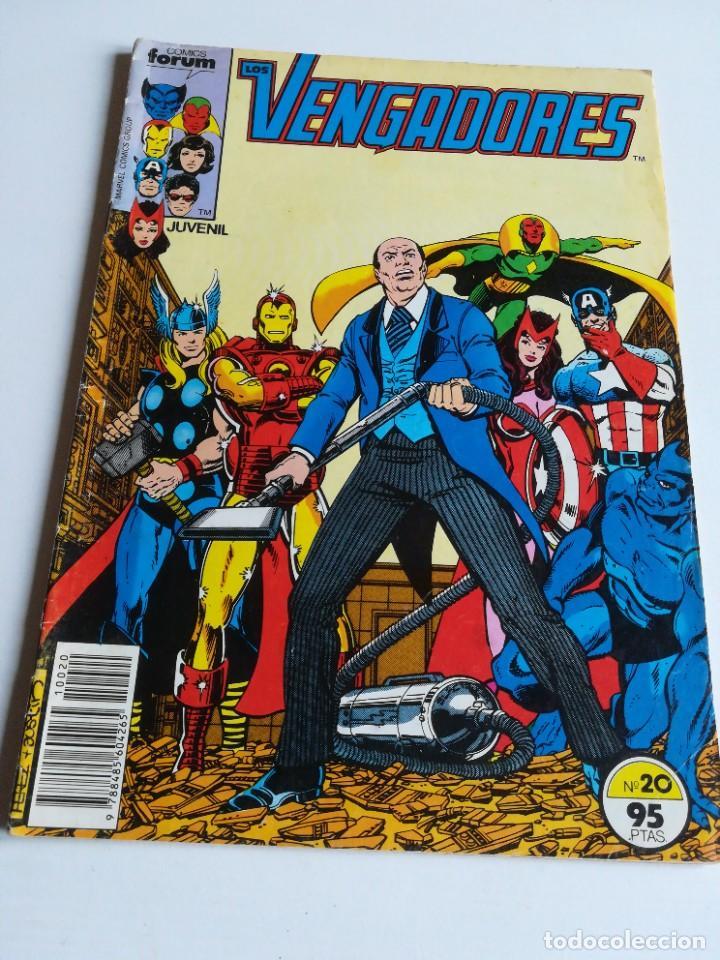 LOS VENGADORES VOL.1 Nº 20 FORUM (Tebeos y Comics - Forum - Vengadores)