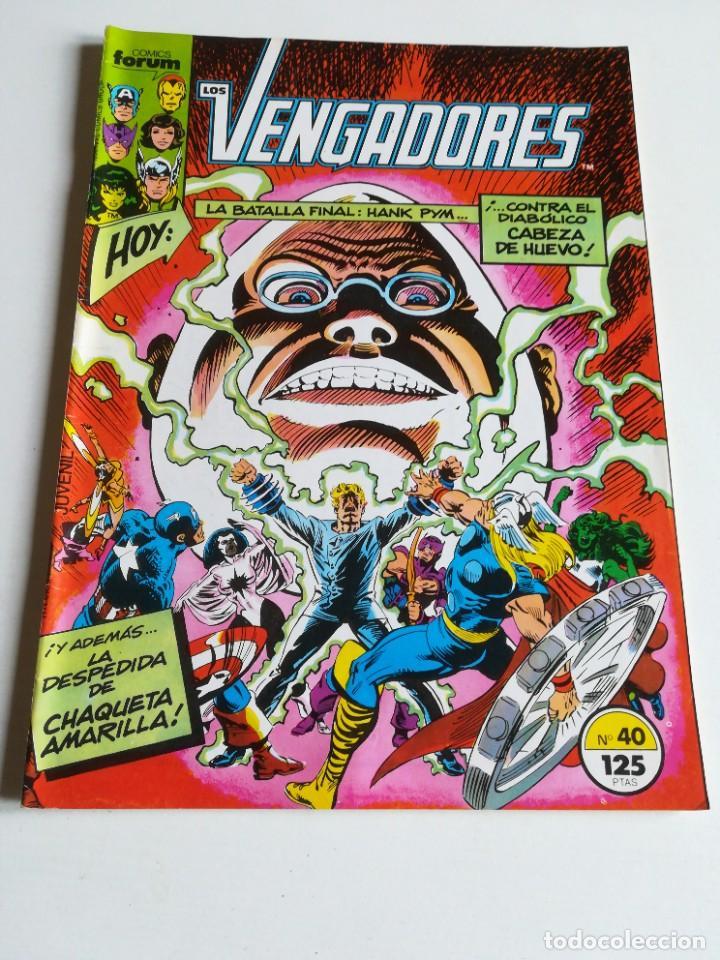 LOS VENGADORES VOL.1 Nº 40 FORUM MUY BUEN ESTADO (Tebeos y Comics - Forum - Vengadores)