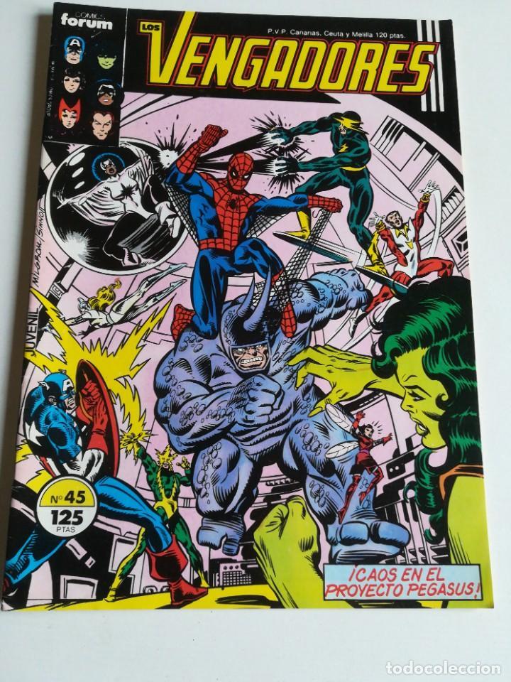 LOS VENGADORES VOL.1 Nº 45 FORUM MUY BUEN ESTADO (Tebeos y Comics - Forum - Vengadores)
