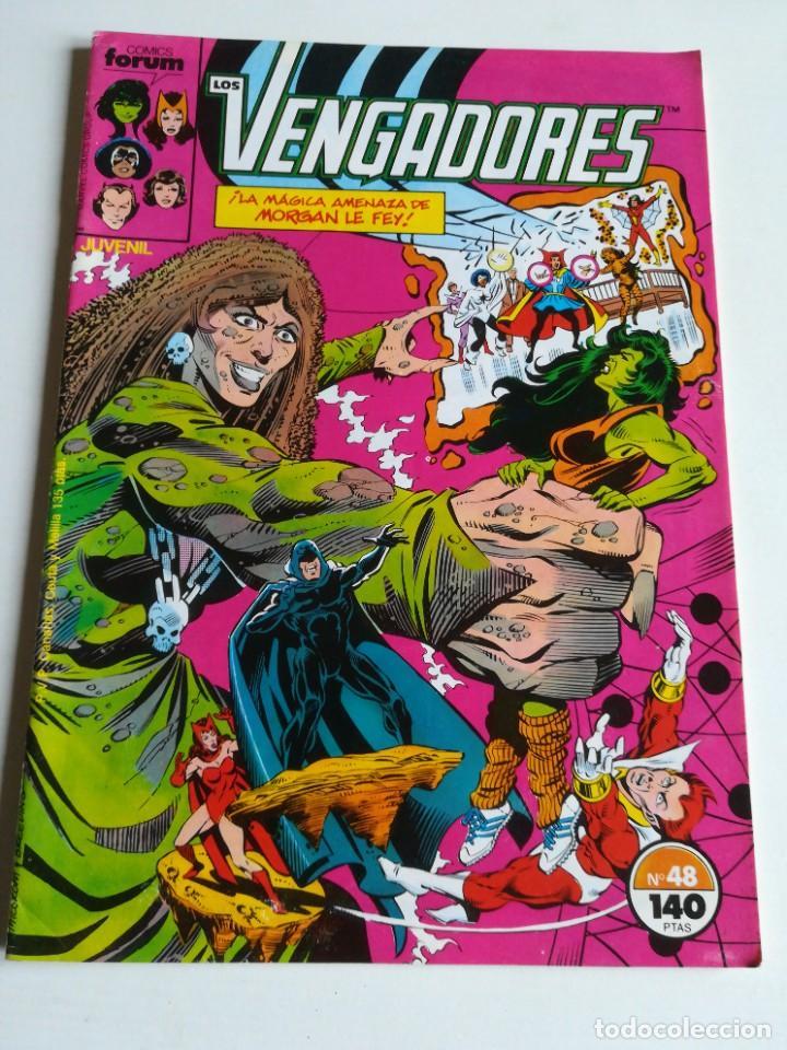LOS VENGADORES VOL.1 Nº 48 FORUM MUY BUEN ESTADO (Tebeos y Comics - Forum - Vengadores)