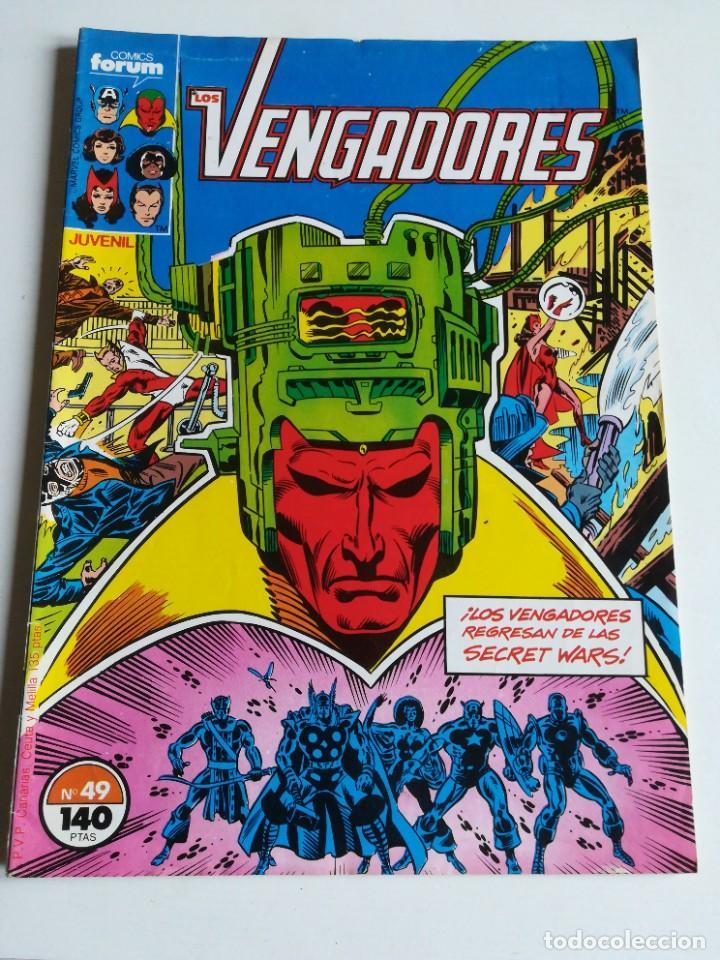 LOS VENGADORES VOL.1 Nº 49 FORUM MUY BUEN ESTADO (Tebeos y Comics - Forum - Vengadores)