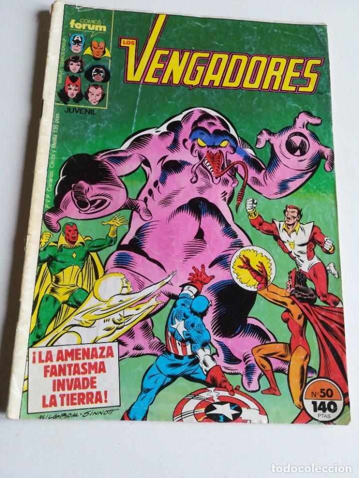 LOS VENGADORES VOL.1 Nº 50 FORUM (Tebeos y Comics - Forum - Vengadores)