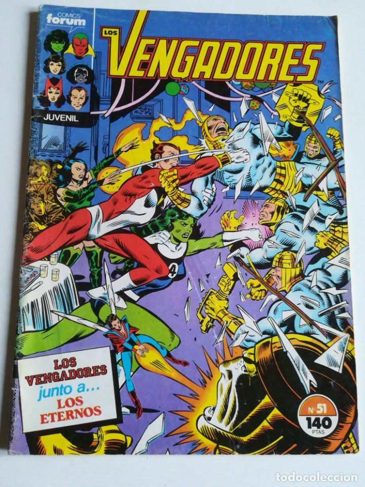 LOS VENGADORES VOL.1 Nº 51 FORUM (Tebeos y Comics - Forum - Vengadores)