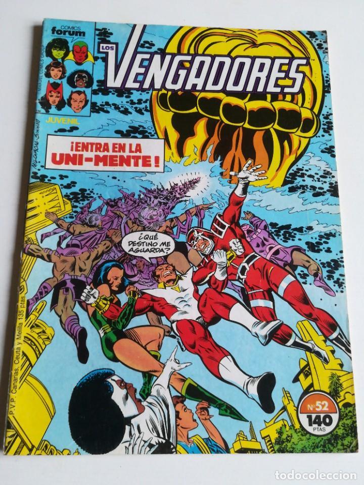 LOS VENGADORES VOL.1 Nº 52 FORUM (Tebeos y Comics - Forum - Vengadores)