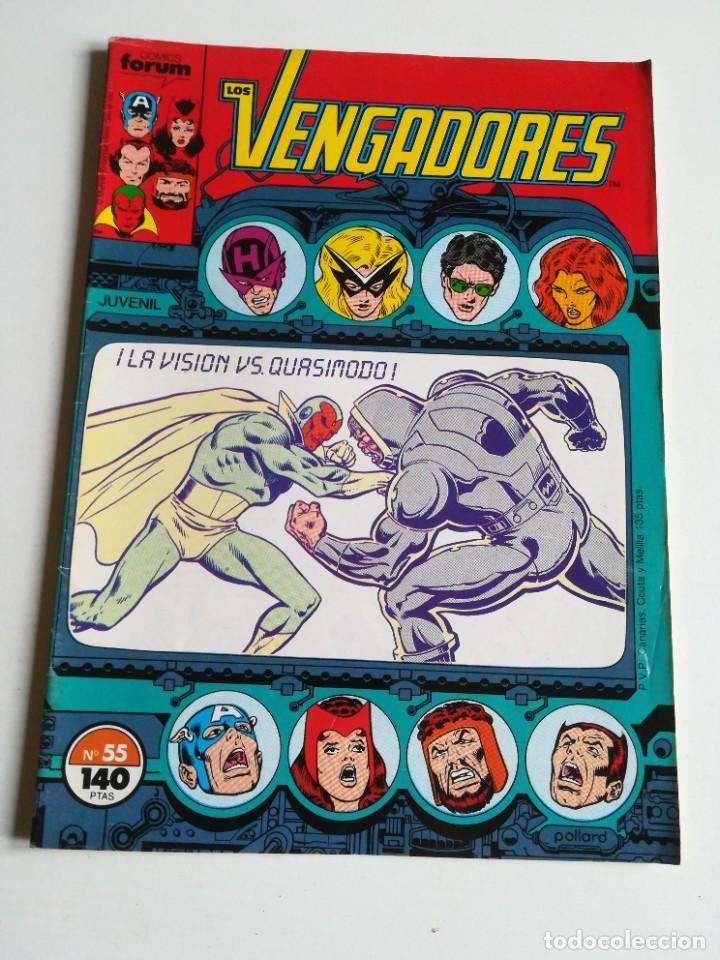 LOS VENGADORES VOL.1 Nº 55 FORUM MUY BUEN ESTADO (Tebeos y Comics - Forum - Vengadores)