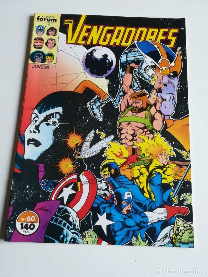 LOS VENGADORES VOL.1 Nº 60 FORUM MUY BUEN ESTADO (Tebeos y Comics - Forum - Vengadores)