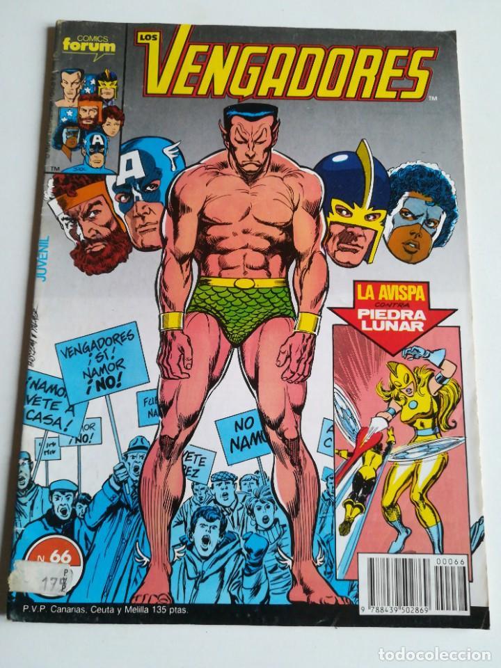 LOS VENGADORES VOL.1 Nº 66 FORUM BUEN ESTADO (Tebeos y Comics - Forum - Vengadores)