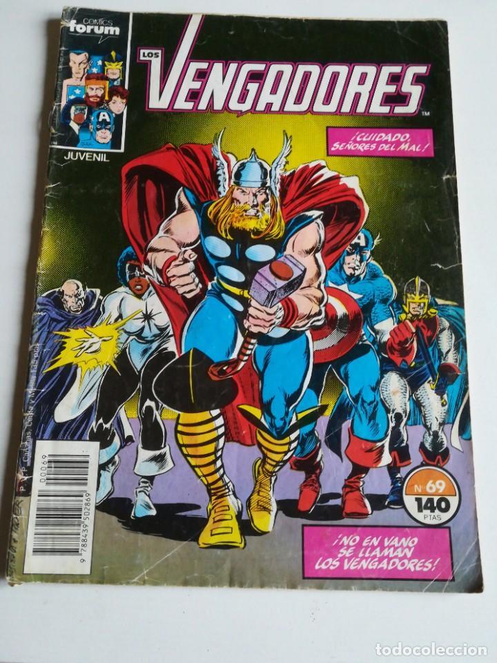 LOS VENGADORES VOL.1 Nº 69 FORUM (Tebeos y Comics - Forum - Vengadores)